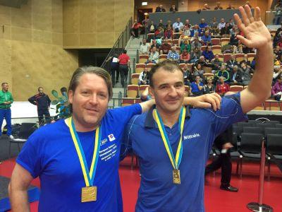 EVC-Sieger 2017 im Ü40-Doppel: Bertram/Vasylevskyi