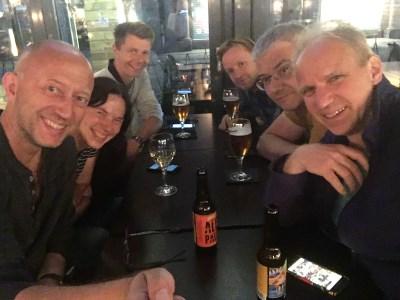 Midsommar-Samstag im Ängelholm-Pub
