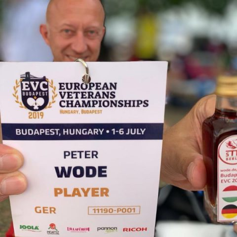 EVC 2019 in Budapest: Badge und Kümmerling