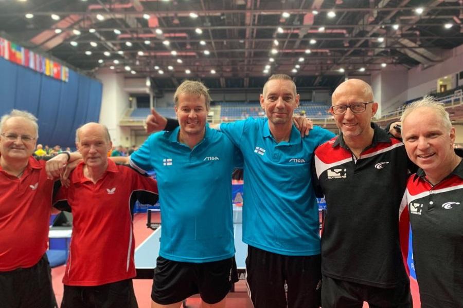 Doppel EVC 2019 Gruppenphase: Wales, Finnland, Deutschland