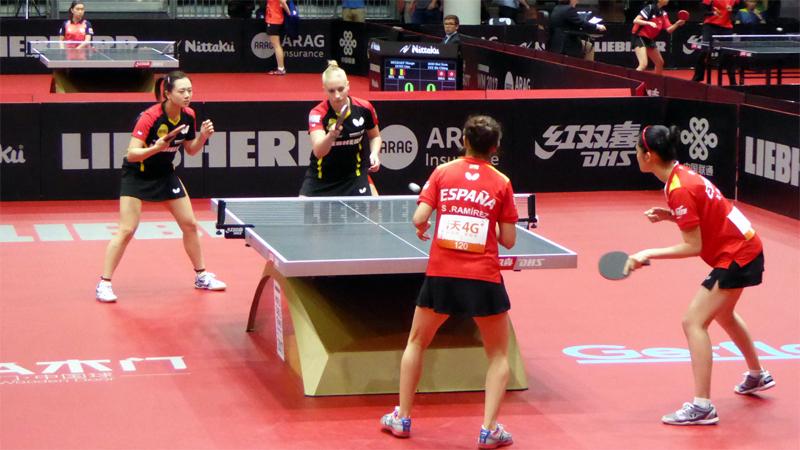 Letzte 64 Damen Doppel: GER - ESP