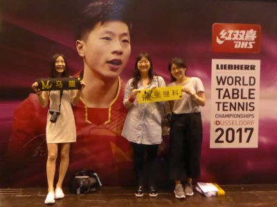 Ma Long Super Star und seine Fans