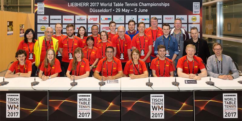 """Team """"Medien & Kommunikation"""" bei der TTWM 2017"""