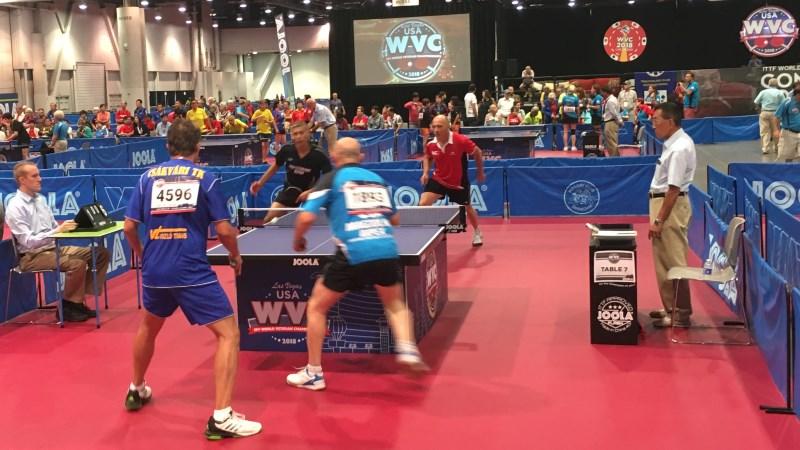 WVC 2018 Halbfinale: Varga/Fejer-Konnert - Stoll/Lehmann 3:1