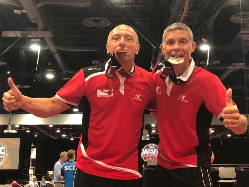 WVC 2018: Bruno und Achim holen sensationell Bronze
