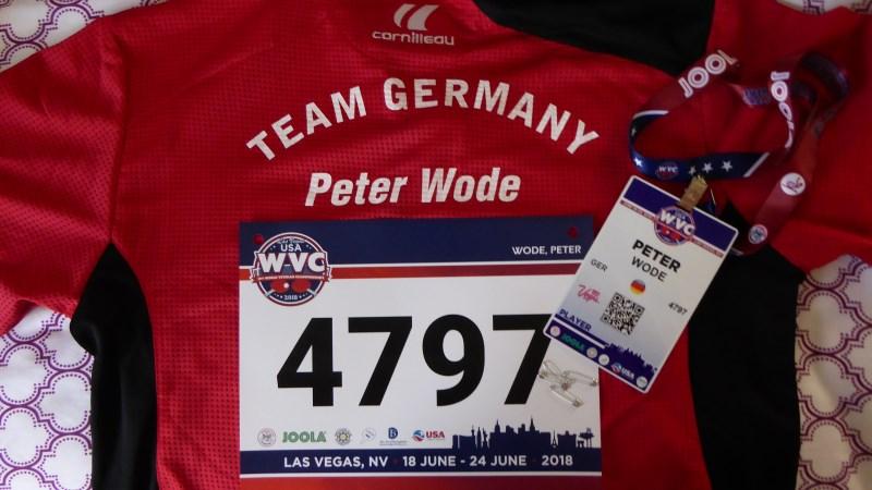 WVC 2018: Startnummer und Badge